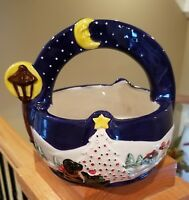 Noritake TWAS THE NIGHT BEFORE CHRISTMAS Basket