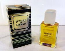 IVOIRE DE BALMAIN DONNA WOMAN FEMME EAU DE TOILETTE SPLASH 50ML. VINTAGE - RARO