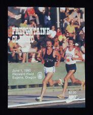 >1990 Steve PREFONTAINE CLASSIC PROGRAM Nike Pre Classic SHORTER vs PRE Cover!!
