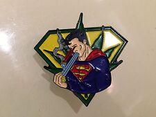 10 PACK SUPERMAN PARODY 1 3/4 inch  MARIJUANA  GRATEFUL DEAD RELIX PIN