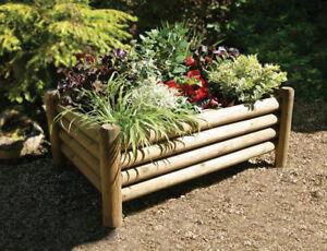 Wooden Garden Shrewsbury Planter by zest 00598