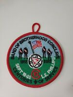 Boy Scout Order of the Arrow OA Section C-1B Conclave 2015 Centennial Patch