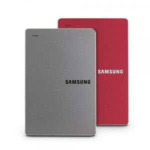 Original Samsung External HDD Y3 w USB 3.0 Cable Compact Slim Auto Backup Safety