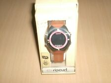 watch rip curl surf wrist watch digital sorbet round  orange new surfing