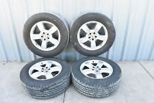 78K! MERCEDES X164 GL550 GL450 GL350 GL320 WHEEL WHEELS SET TIRE TIRES 18  OEM