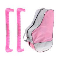 Inline Rollschuh Stiefeltasche Ice Hockey Skate Blade Guard  Pink