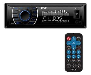 Bluetooth Marine Receiver Stereo, MP3/USB/SD Readers, AM/FM Radio (Black)