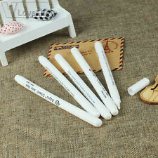 4pcs Fabric Markers Soluble Cross Stitch Chalk Water Erasable Pens Marking Pen