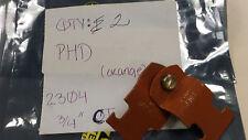 "PHD 2304 New 3/4"" CT Orange Conduit Clamps (QTY 2)"
