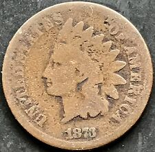USA 1873 Indian Head Cent Penny Kupfer Selten One US Cent 4478