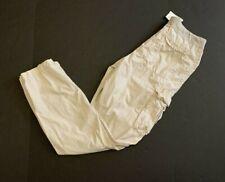 James Perse Men's Lightweight Drawstring Cargo Beige Pants Sz 1 NWT $250