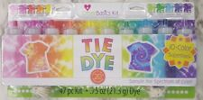 Tie Dye Kit 47 Piece 10 Color Super Pack 20 Projects Create Basics FREE SHIPPING