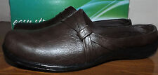 Easy Street Comfort Wave New Brown Slip On Size 8.5M Oxford Slides Comfy Shoes
