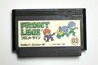Famicom Front Line Japan FC game US Seller