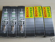 Set of 6 BOSCH SUPER 7581 Spark Plugs for FORD F150 THUNDERBIRD MUSTANG FREESTAR