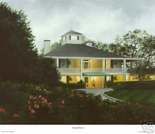 """Augusta National Golf Club Clubhouse -""""Evening shadows"""", Giclee on Canvas  16x20"""