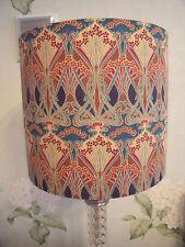 Buy art nouveau lampshades and lightshades ebay handmade drum lampshade 20cm liberty of london art nouveau ianthe fabric aloadofball Images