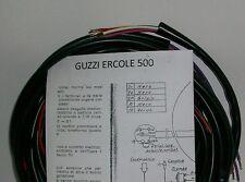 IMPIANTO ELETTRICO ELECTRICAL WIRING MOTOCARRO GUZZI ERCOLE 500+SCHEMA ELETTRICO