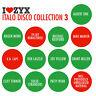 CD ZYX Italo Collection Vol.3 von Various Italo Artists  3CDs