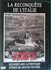 DVD DOCUMENTAIRE AUTENTIQUES LA RECONQUÊTE DE L'ITALIE Ref 0353