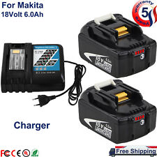 For Makita Bl1860B 18 Volt Lxt Lithium Batteries Bl1830B 18V or Dc18Rc Charger