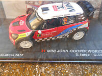 MINI JOHN COOPER WORKS WRC Mcarlo 2012 D.SORDO-C.DEL BARRIO  SCALA 143