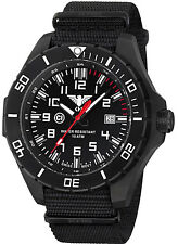 KHS Tactical Watches C1 Light Date Swiss Movement Black Nato Band KHS LANBS NB