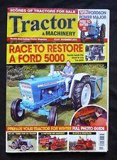 Tractor & Machinery, November 2012, Vintage MF Harvest, Ford 5000, IH BTD-8, ++