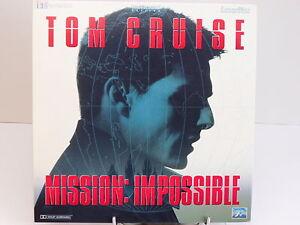 LASERDISC - MISSION IMPOSSIBLE / TOM CRUISE