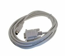 RS232 DB9 Serial Programming Cable for Allen Bradley AB Micrologix series White