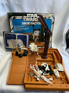 VTG Mixed 1977 /1979 Star Wars Kenner Droid Factory 39150 In Original Box