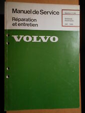 Volvo 240 1986 : schémas électriques