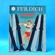DDR FÜR DICH 36/1989 Eberswalde Frankfurt Bäckerei Burgstädt Textima K. Dörre B