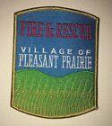 Pleasant Prairie Fire & Rescue Patch - Wisconsin