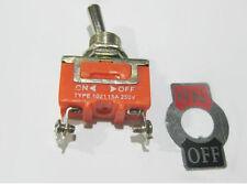 5pcs 15a 250v 2 Pin Toggle Switch On Off