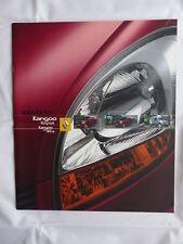 Renault Kangoo Rapid 4x4 - Brochure 11.2003