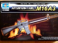 Trumpeter 1:3 M16A3 rifle Model Kit