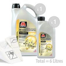 Car Engine Oil Service Kit / Pack 6 LITRES Millers NANODRIVE EE 10w-40 6L