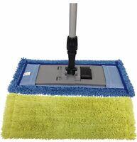 Microfiber Pocket Mop Kit: (2) Pocket Mops, (1)Mop Frame & (1)Aluminum Handle