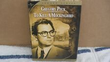 """DVD -  """" TO KILL A MOCKINGBIRD 2=DISC EDITION W/ GREGORY PECK 1962 PRE-OWN: EXCE"""