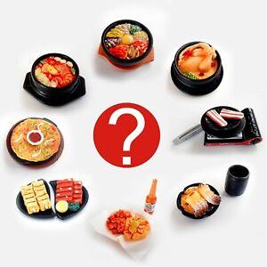 1:6 Dollhouse Miniature Blind Box Korean Food BBQ Plate 1 Random Food Accessory