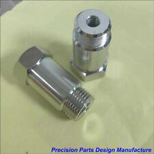 2x 45mm gerade Lambdasonde O2 Lambdasensor M18x1.5 Kfz Auto Tuning Abgassysteme