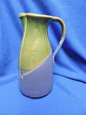 Unique Pottery Pitcher signed JAR