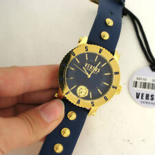 Versus Versace S31100016 Madison Blue Leather Quartz Watch Parts Not Working