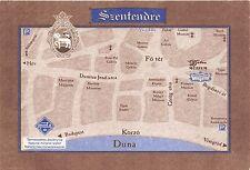 BC60204 Maps Cartes geographiques Hungaria Szentendre