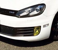 10-13 VW MK6 Yellow Fog Light Overlay Tint Vinyl GTI R32 MKVI Volkswagen Euro
