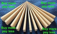 WOODEN WEDGES set of 12 levelling door stops ANTI  FENCE RATTLE