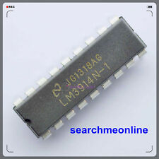 10pcs National Semiconductor Lm3914n-1 Lm3914 - Display Driver Dip-18 IC