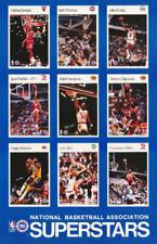 "POSTER : NBA BASKETBALL :  NBA STARS OF THE 90""S -    FREE SHIPPING !!    RC22 K"