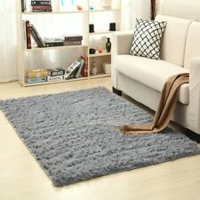 4x7 Area Rugs Carpet Floor Room Living Fluffy Modern Soft Shaggy Flooring Large